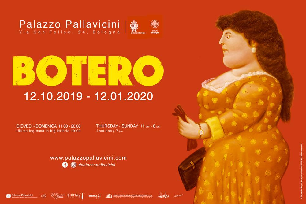 Locandina mostra Botero